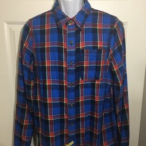 Abercrombie and Fitch Plaid Muscle Shirt Size XXL